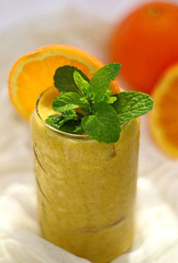 Detox Honey, Orange and Ginger Smoothie