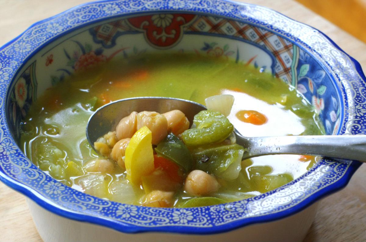 Alkalizing Jalepeno Soup
