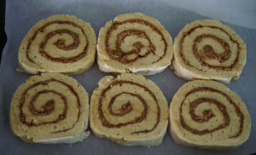 Gluten Free, Ancient Grain Cinnamon Buns