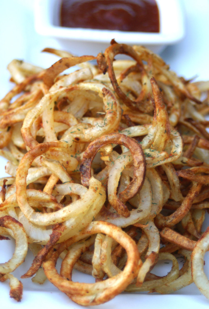 Low Calorie Curly Fries Going Cavewoman