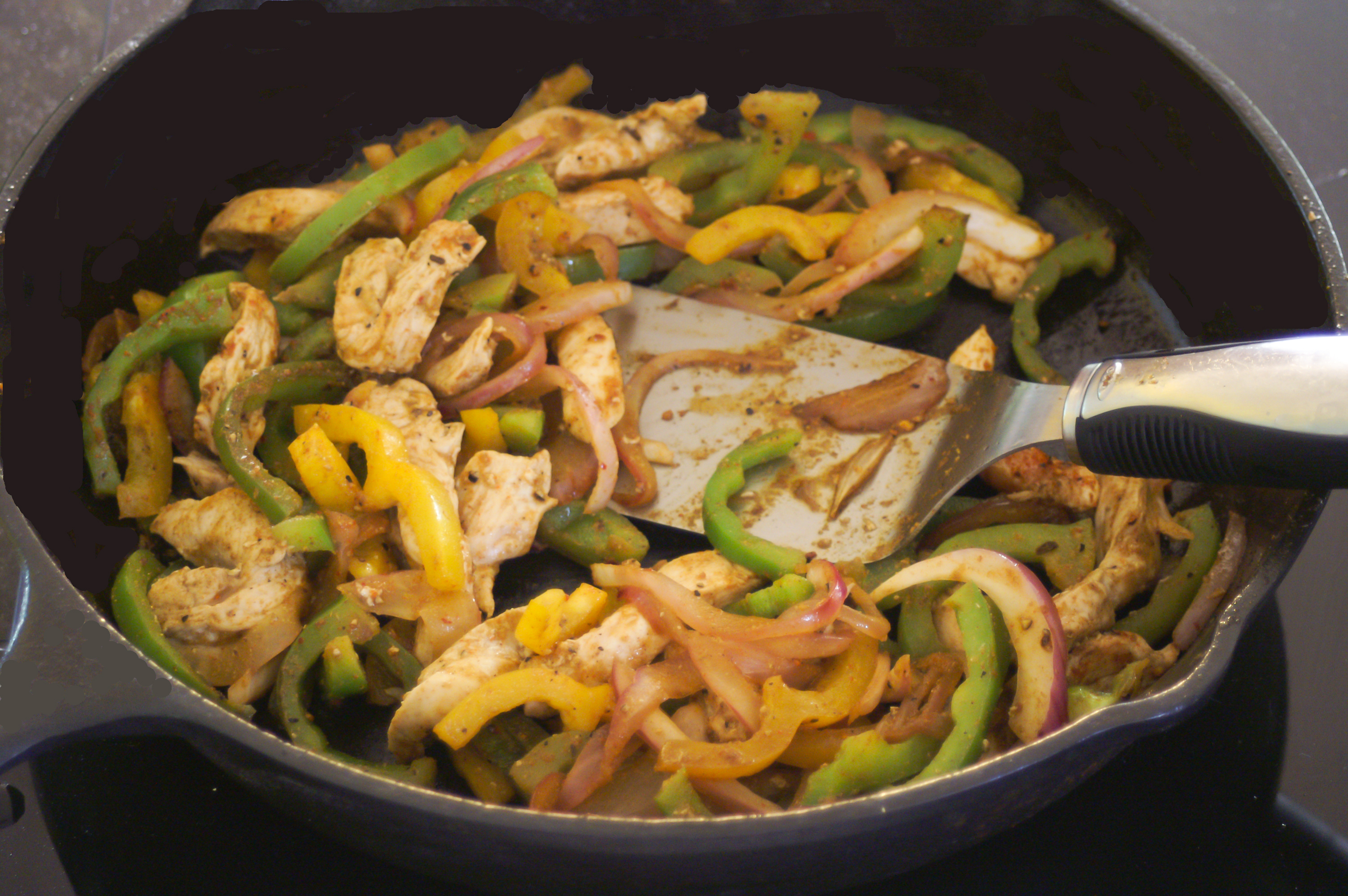 Chicken Fajitas | Going Cavewoman