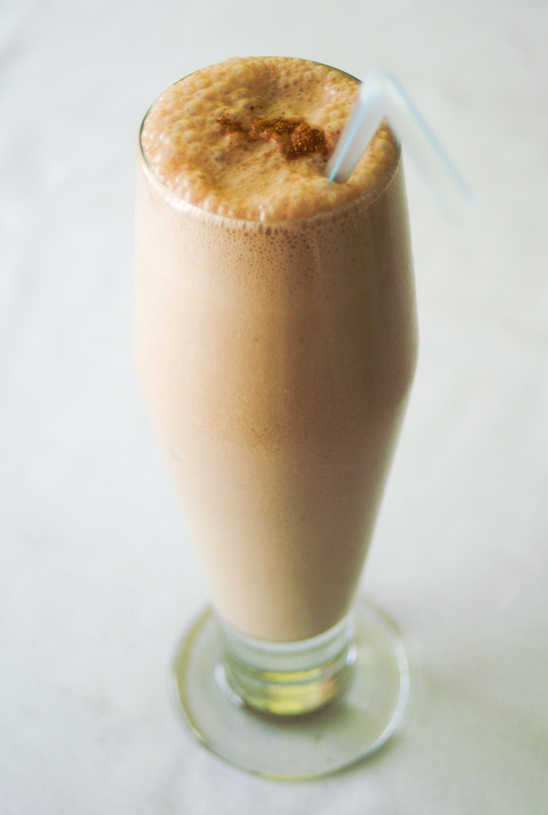 Paleo Chocolate Banana Milkshake