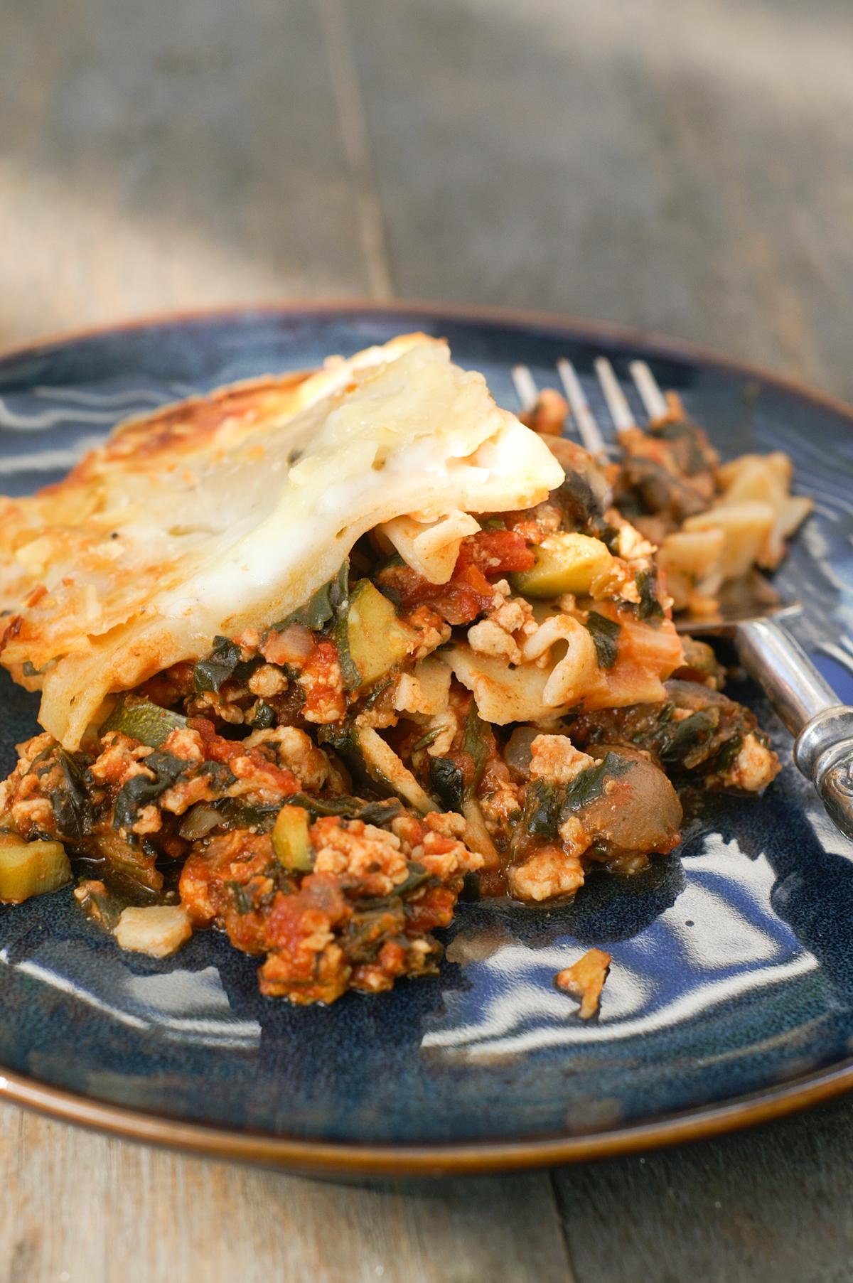 Low Calorie Turkey Lasagne
