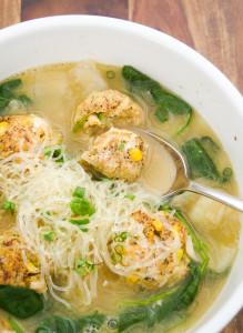 Low Calorie Wedding Soup with Kelp Noodles