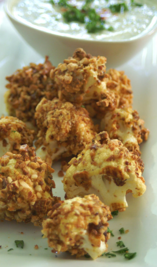 Paleo Low Calorie Crunchy Cauliflower.