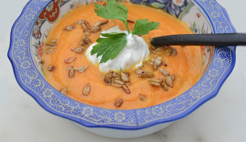 Paleo Carrot and Parsnip Soup