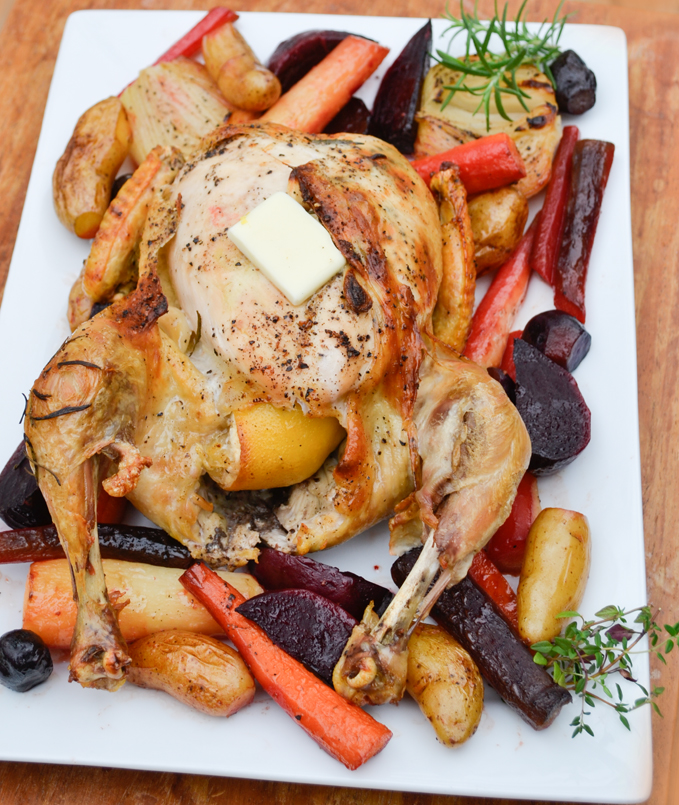 Paleo Roast Chicken