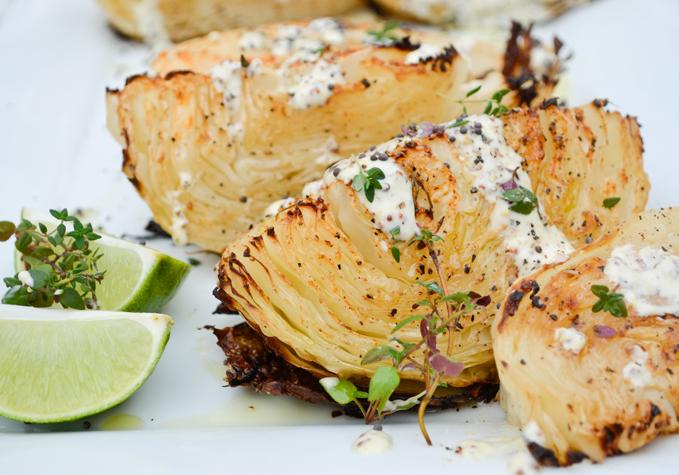 Paleo Roasted Cabbage